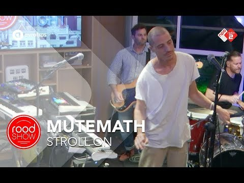 Mutemath - 'Stroll On' live @ Roodshow Late Night Mp3