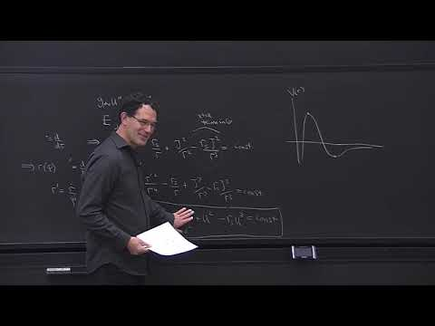 Lecture 11   The perihelion shift, the Einstein Hilbert action, the energy momentum tensor  Lecture