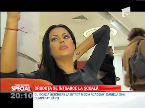 SPECIAL! Daniela Crudu, elevă la Intact Media Academy