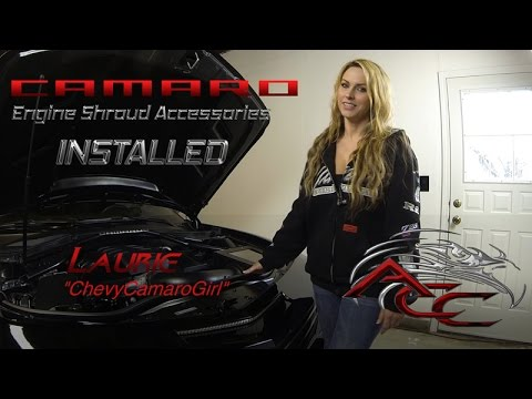 How To Install Camaro Engine Cover Accessories