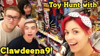 Toy Hunting with CLAWDEENA9! New Toys Found!