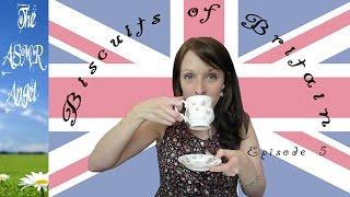 Asmr Biscuits Of Britain - Tea Drinking And Biscuit Tasting Ep5 (binaural)
