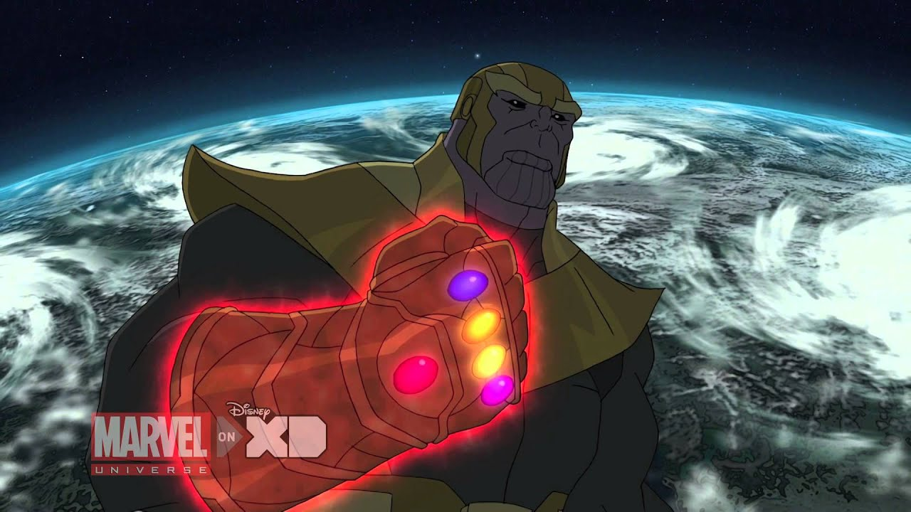 Marvel S Avengers Assemble Thanos Wields The Infinity