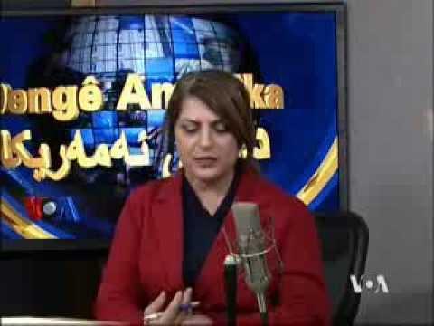 KURDISH RADIO ON TV 2014 01 16 14 شئروان شەمیرانی..واشنتن R TV قەیرانی نێوان هەولیرو بەغدا