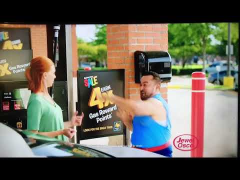 Worst commercial ever! Jewel Osco 4x gas rewards commercial 8/2017