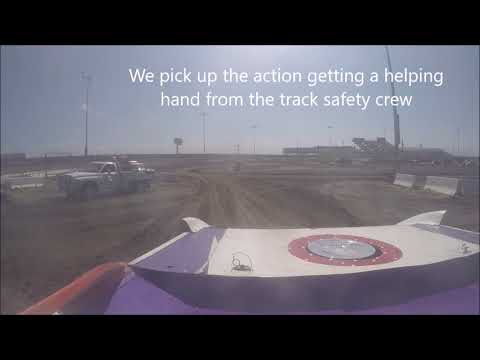 Driver's Eye View of I-80 Speedway
