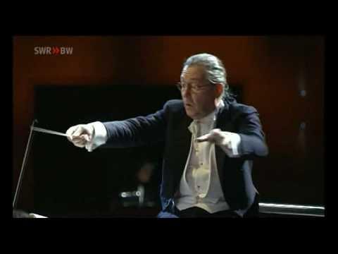 Bruckner Symphony 4, 2nd Mov. , Silvain Cambreling