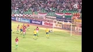 VM-KVALET 2005 - ungern - sverige 0-1