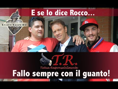 Rocco Siffredi a studio da noi Tattoo Clean Ink Roma
