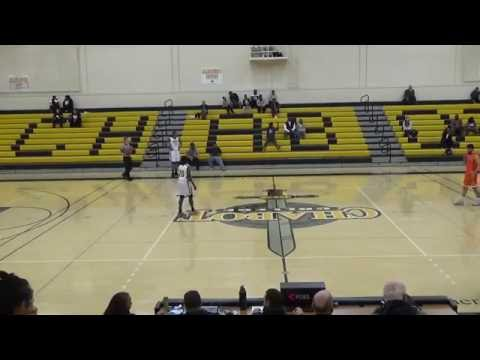 Chabot vs West Valley College Men's Basketball 1st Half 11/22/16