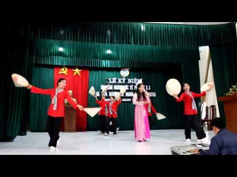 Múa Bài Thăm Bến Nhà Rồng ( Mít Tinh 8/3/2014 xã Nam Hồng )