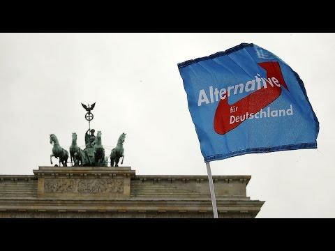 Far-right gains in German elections, Merkel takes blame
