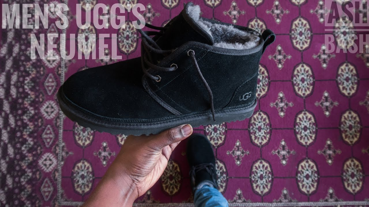 bd84d2f9a98 Mens UGG Chukka | Neumel | Review & On Foot | Ash Bash