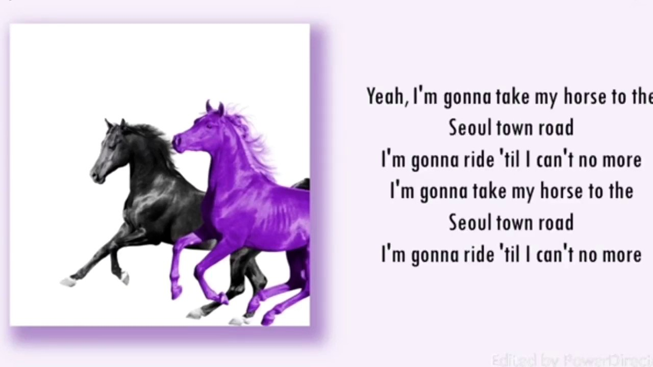 nas x old town road lyrics