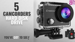 Top 10 Camcorders Hard Disk Drive [2018]: Crosstour 4K 16MP Sport Action Camera Ultra HD Camcorder
