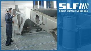 SLF Oberflächentechnik bei der Wirtgen GmbH in Windhagen - Deutsch