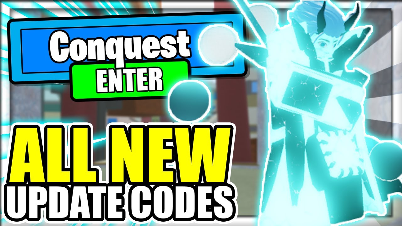 ALL NEW *CONQUEST* UPDATE 37 CODES! Roblox Shindo Life 2x ...