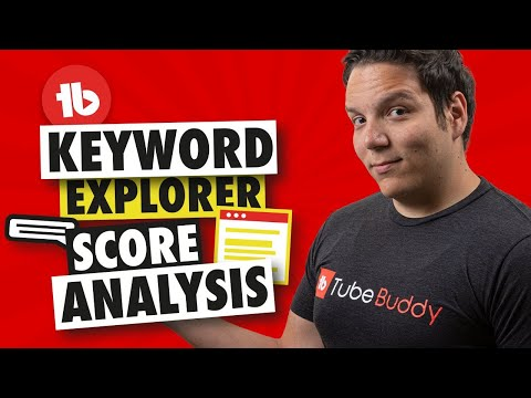 Download TubeBuddy Keyword Research Score analysis   How it works!