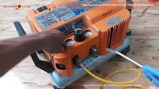 Máy bơm hơi áp lực cao Hitachi áp nén 30kg giá tốt cho công trình