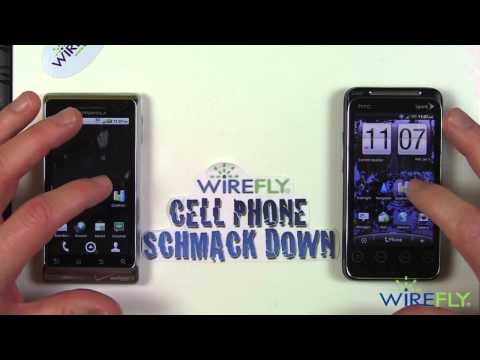 HTC EVO Shift 4G vs. Motorola Droid R2-D2 Schmackdown!
