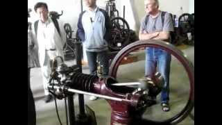 moteur fixe à gaz 1890