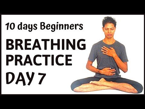 10 days Systematic Pranayama Practice day 7 - Yoga with Amit