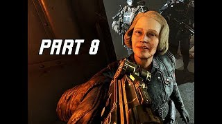 WOLFENSTEIN 2 THE NEW COLOSSUS Walkthrough Part 8 - Trial (PC Ultra Let
