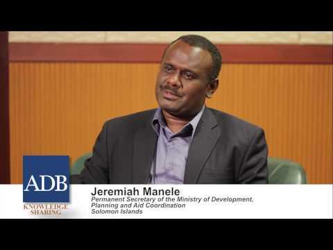 Sustainable Asia Leadership Program: Jeremiah Manele