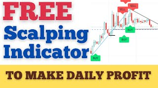 how to scalp cryptocurrency - Use this FREE  crypto scalping Indicator to Make Money Daily