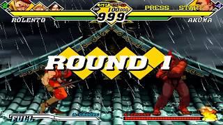 Capcom vs SNK 2 EO - Boss Battle【TAS】