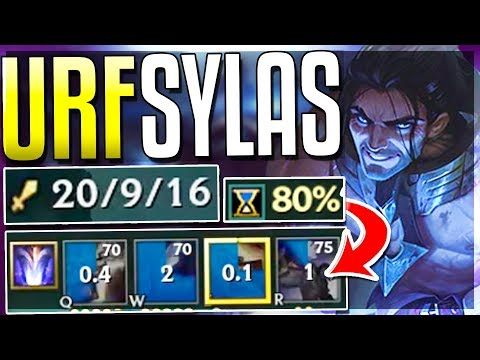 WTF? SYLAS ON NEW URF IS UNBEATABLE HOW DO YOU STOP THIS? 80% R - Sylas Urf Gameplay