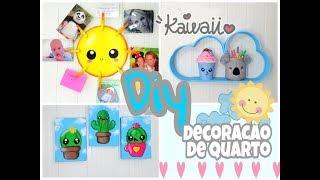 DIY KAWAII / ideias com papelão para decorar o quarto #AMIGASYOUTUBERS