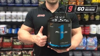 R1 Whey Blend by Rule 1 Proteins - Review by Genesis.com.au(R1 Whey Blend by Rule 1 is an exciting entry into a heavily saturated marketplace. With so many proteins to choose from, R1 Protein stakes it claim in the sand ..., 2016-08-23T23:57:34.000Z)