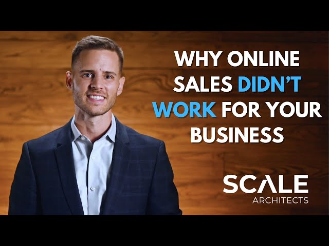 Why online sales didn't work for your business
