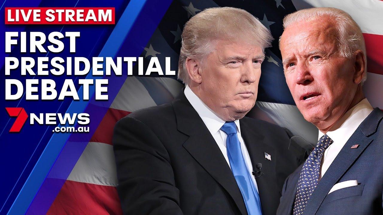 Donald Trump vs Joe Biden: The First U.S. Presidential Debate | 7NEWS