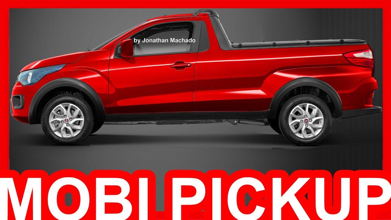 PHOTOSHOP Fiat Mobi Pickup 2018 #Mobi - YouTube