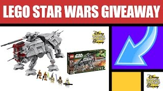 Free Stuff Lego Star Wars At-te Lego Sets Giveaway Contest #77 Open