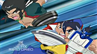 Beyblade S1 Opening Remastered in HD with (Jetix Experience)