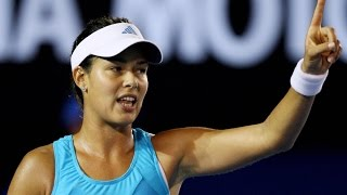Ana Ivanovic VS Daniela Hantuchova Highlight Australian Open 2008 SF