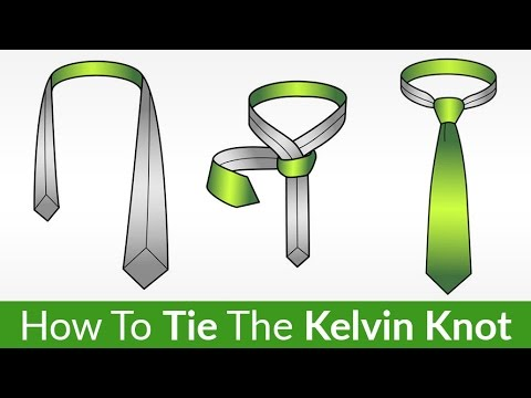 The Kelvin Knot? | Learn This FUN Tie Knot EASILY | Tying A Tie Video Tutorial