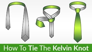 the kelvin knot   learn this fun tie knot easily   tying a tie video tutorial
