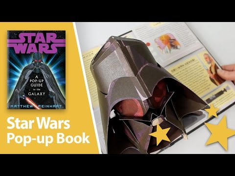 Star Wars: A Pop-Up Guide to the Galaxy Pop-Up Book by Matthew Reinhart