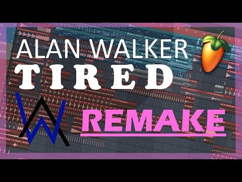 Alan Walker - TIRED [Full Instrumental Remake in FL Studio 20] +FREE FLP & ALL PRESETS