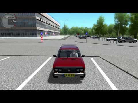 City Car Driving VAZ BA3 2106 HD Tuning SPORT Logitech G27 #simulator #Citycardriving