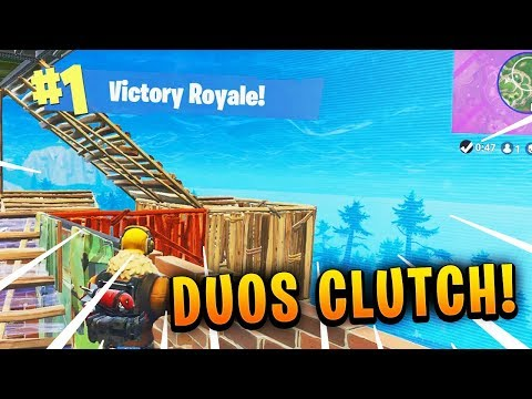 Brush - EPIC DUOS CLUTCH For The VICTORY ROYALE! (Fortnite Battle Royale Stream Highlights)