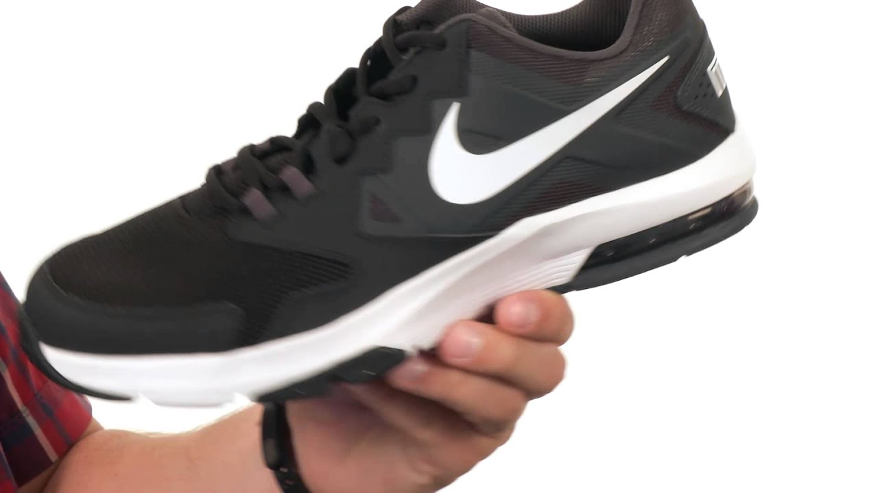 nike black air max crusher training sports shoes