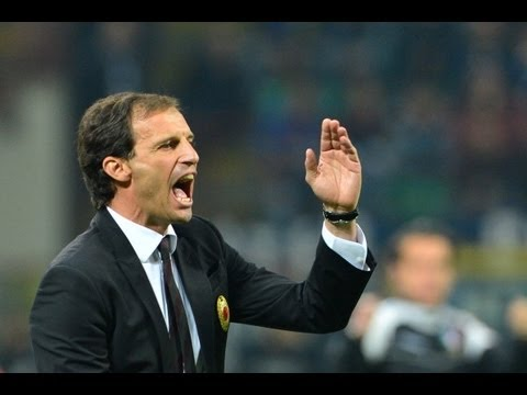 Milan's Allegri generous in his praise for Juventus as rivals win title
