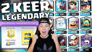 2 KEER DE BESTE LEGENDARY KRIJGEN IN 1 VIDEO CLASH ROYALE NEDERLANDS
