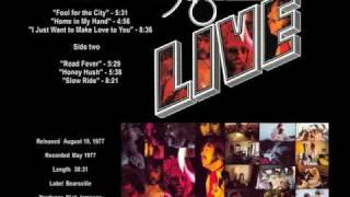 Foghat / Slow Ride Live - 1977