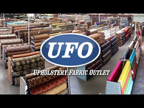 Ufo Upholstery Fabric Outlet Youtube